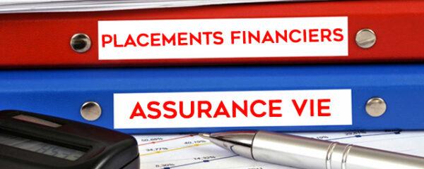 Placements financiers assurance vie